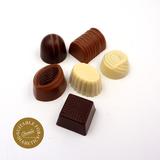 Handgemaakte Belgische pralines zonder toegevoegde suikers, gezoet met maltitol_