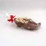 Chocolade klompje met pralines_