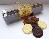 Handgemaakte Belgische chocolade caraques_
