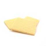 Witte chocolade plaatjes zonder toegevoegde suikers_