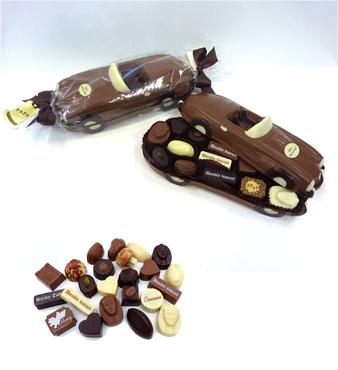 Chocolade Auto Vaderdag