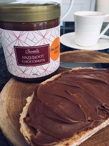Artisanale chocoladepasta met HAZELNOOT - PALMOLIE vrij!