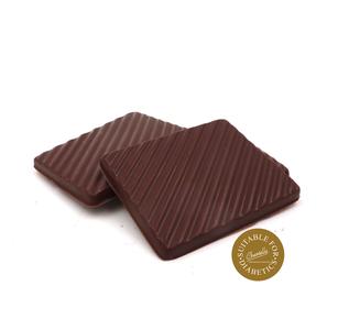 Chocolade plaatjes zonder toegevoegde suikers