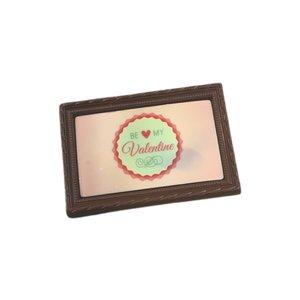Valentijn Chocolade kaartje