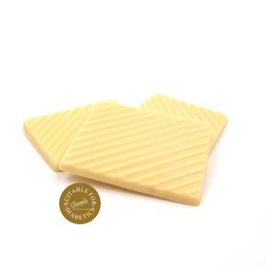 Chocolade plaatjes zonder toegevoegde suikers - WIT