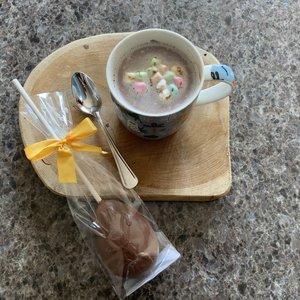 Paas chocolade Stick voor chocomelk