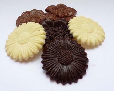 Handgemaakte Belgische chocolade caraques